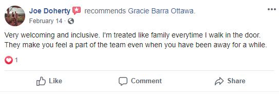 Adult 3, Gracie Barra Ottawa